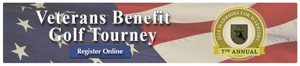 Veterans Benefit Golf Tourney 2018 Registration